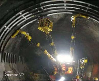 成兰线铁路跃龙门隧道